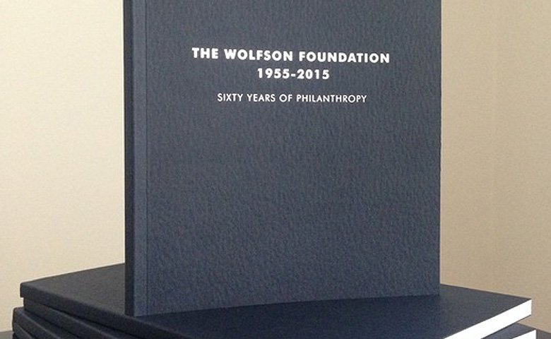 The Sixty Years of Philanthropy Book