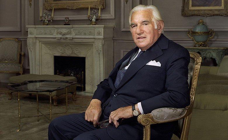 Sir Isaac Wolfson, founder of The Wolfson Foundation