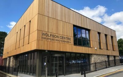 Wolfson Centre for Applied Health Research in Bradford opens today